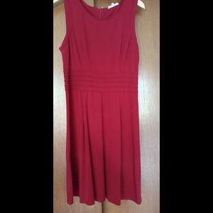 41 Hawthorn Raspberry Fit & Flare Dress